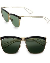 Dior So Electric 58mm Square Sunglasses - Lyst