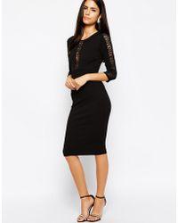 Tfnc Arita Bodycon Dress - Lyst