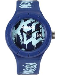 Reebok - Rf-Twg Blue Watch - Lyst