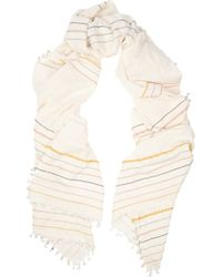 Finds - + Heather Taylor Woven Cotton Scarf - Lyst