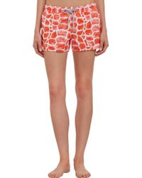 Vilebrequin | Turtle Shell Fanya Coverup Shorts | Lyst