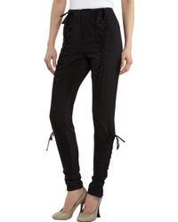 Rodarte x Opening Ceremony Front Laceup Pants - Lyst
