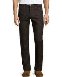 7 For All Mankind - Slimmy Cashmere-blend Denim Jeans - Lyst