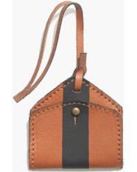Madewell Luggage Tag in Paintstripe - Lyst
