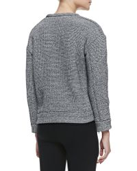 Iro Parker Boxy Textured Knit Sweater - Lyst