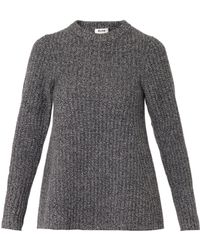 Acne Studios Dixie Aline Wool Sweater - Lyst