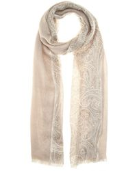 Loro Piana Opposite Ravello Cashmere And Silk-Blend Scarf - Lyst