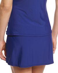 Athena - Cabana Solids Banded Skirt Bottom - Lyst