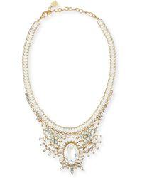 DANNIJO - Bodi Crystal Statement Necklace - Lyst