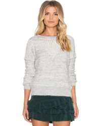 IKKS - Long Sleeve Sweater - Lyst