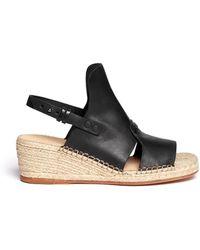 Rag & Bone Sayre Ii Slingback Espadrille Wedge Sandals - Lyst