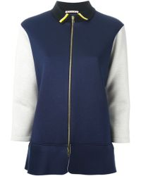 Marni Colour Block Sport Jacket - Lyst