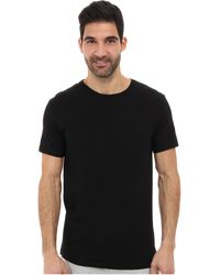 Calvin Klein Cotton Classic Short Sleeve Crew 3 Pack - Lyst
