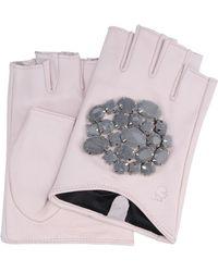 Karl Lagerfeld | Geo Stones Gloves | Lyst