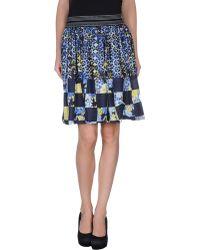 Pianurastudio Knee Length Skirt - Lyst