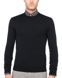 Ovadia And Sons Luxury Crew Neck Pony Patch Sweater - Lyst