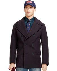 Polo Ralph Lauren Wool Pea Coat - Lyst