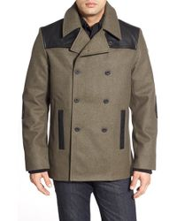 Victorinox - 'sonder' Double Breasted Coat - Lyst