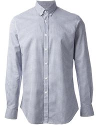 Mr Start Norman Check Shirt - Lyst