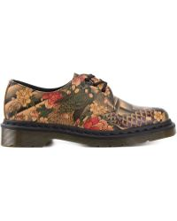 Dr. Martens Printed Lace-Up Shoes - Lyst