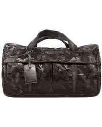 Emporio Armani Borsone Nylon Camouflage - Lyst