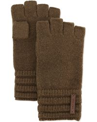 Cole Haan | Wool Ribbed Fingerless Gloves | Lyst