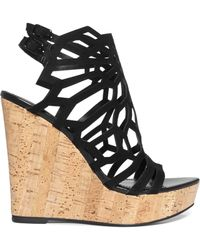 Charles By Charles David Apollo Platform Wedge Sandals - Lyst