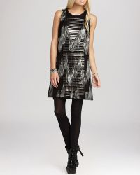 BCBGeneration Dress - Sequin Overlay - Lyst
