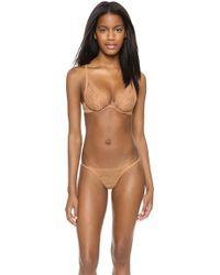 La Perla Studio Rosa Triangle Bra Nude - Lyst