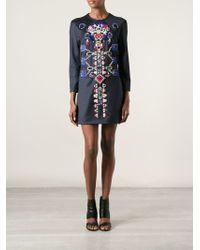 Mary Katrantzou Directopia Mini Dress - Lyst