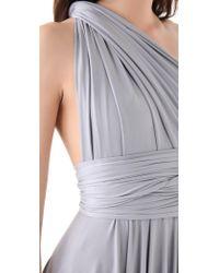 Twobirds - Tea Length Convertible Dress - Dove - Lyst