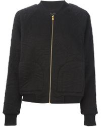 Marc By Marc Jacobs Quilted Sweatshirt - Lyst