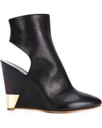 Chloé - 'eliza' Cut Out Boots - Lyst