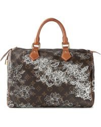 Louis Vuitton Dentelle Speedy 30 Tote - Lyst