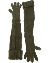 I'm Isola Marras - Long Knit Gloves - Lyst