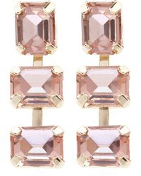Coast Peach Earrings - Lyst