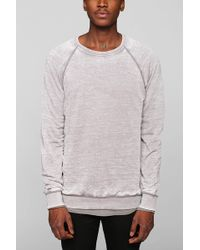 BDG - Burnout Pullover Sweatshirt - Lyst