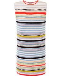 Suno Neon Stripe Crazy Ottoman Tunic - Lyst