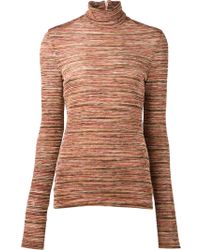 Rodarte Striped Sweater - Lyst