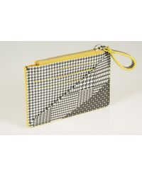 Alexander McQueen Yellow Wallets - Lyst