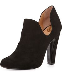 Vc Signature Gabel Dipped Suede Ankle Boot - Lyst