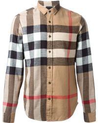 Burberry Brit House Check Shirt - Lyst