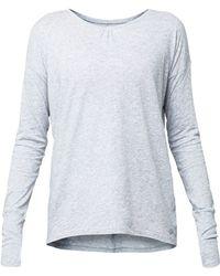 Lija - Serene Lifestyle Long Sleeve Top - Lyst