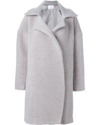 Charlie May - Woven Fleece Coat - Lyst