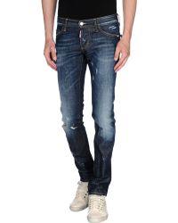 DSquared² Denim Trousers blue - Lyst