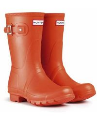 Hunter Original Short Rain Boots - Lyst