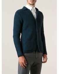 Tonello - Chunky Knit Cardigan - Lyst