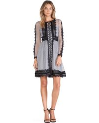 Alice By Temperley Long Sleeved Misty Dress - Lyst