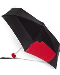 Lulu Guinness | Abstract Lip Tiny Umbrella | Lyst