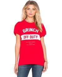 The Laundry Room | Grinch Off Duty Rolling Tee | Lyst